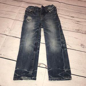 Toddler boys skull gap jeans 2T